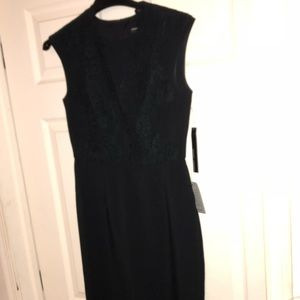 Maggy London Dresses - SOLD OUT NWT Maggy London Black Crepe & Lace Dress